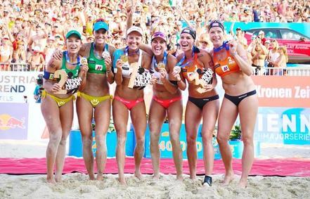 České plážové volejbalistky – nejlepší na světě