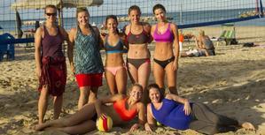 Italský beachvolejbalový kemp září 2016