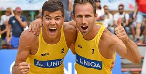 Mistrovství České republiky a bronzový úspěch Beach Service dvojice Dumek/Berčík