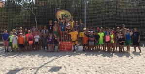 Přijďte si zdarma vyzkoušet trénink plážového volejbalu s Beach Service.