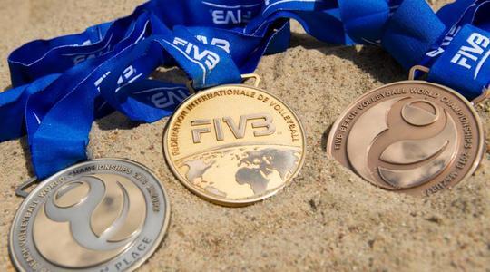 Evropské a světové turnaje v plážovém volejbalu