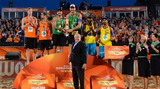 Největší beach volejbalová událost roku 2015 je u konce