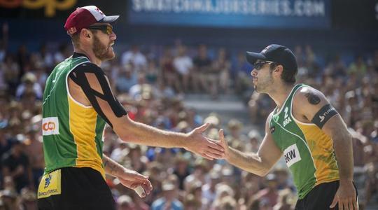 Brazilské páry jsou ve formě, ovládly turnaj v Gstaadu