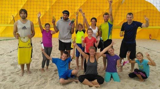 První říjnový víkend jsme strávili jak jinak než na písku