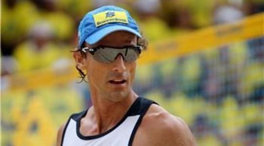 Poslední turnaj legendárního beach volejbalového hráče Emanuela Rego