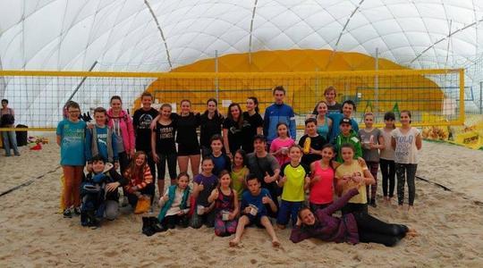 Turnaj trenérů a dětí z Beach Service