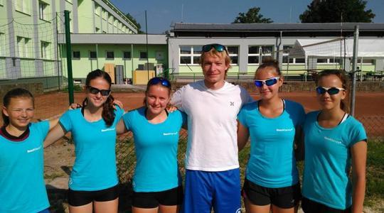 Osm hráčů Beach Service se účastnilo MČR U16