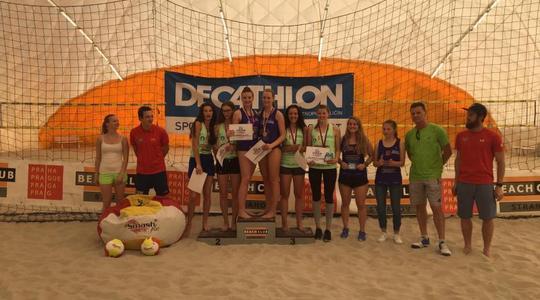 Beach Service získal na halovém mistrovství do 18 let cenný bronz