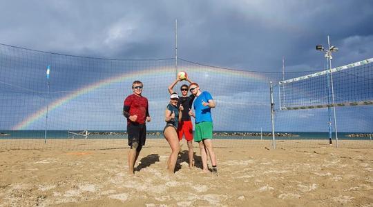 Beach kemp v Itálii, týden druhý by Kovy