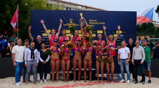 Návrat světového beach volejbalu do Prahy