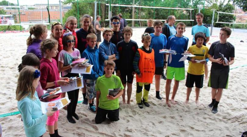 Děti nemají o českém ani světovém beach volejbalu skoro žádné povědomí