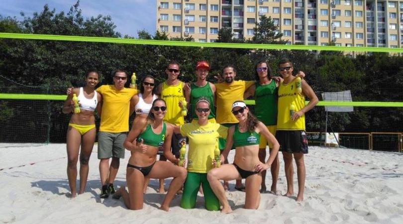Tým Beach Service vyhrál klubového mistra České republiky