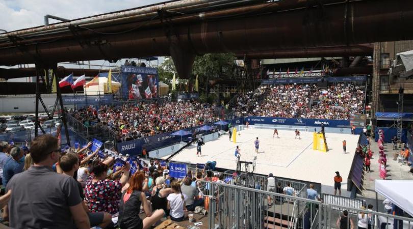 Blíží se již třetí ročník FIVB Ostrava Beach Open